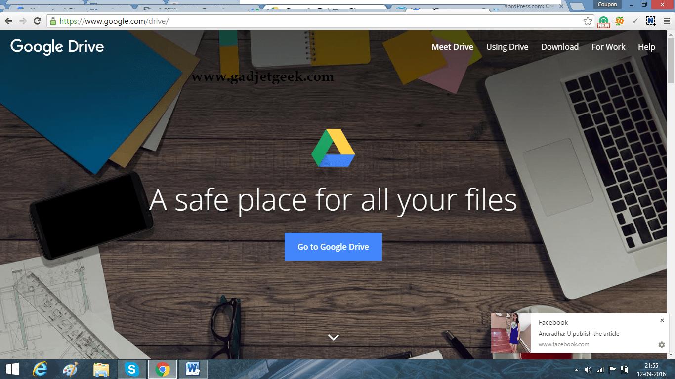 Google drive picture