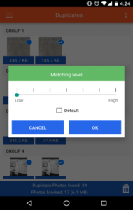 Duplicate Photos Fixer Mobile App 2018