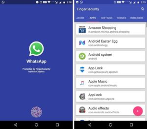 FingerSecurity App image