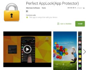 Perfect App Lock image