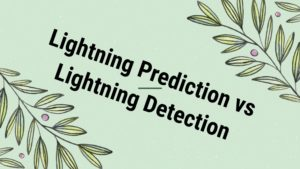Lightning Prediction vs Lightning Detection image