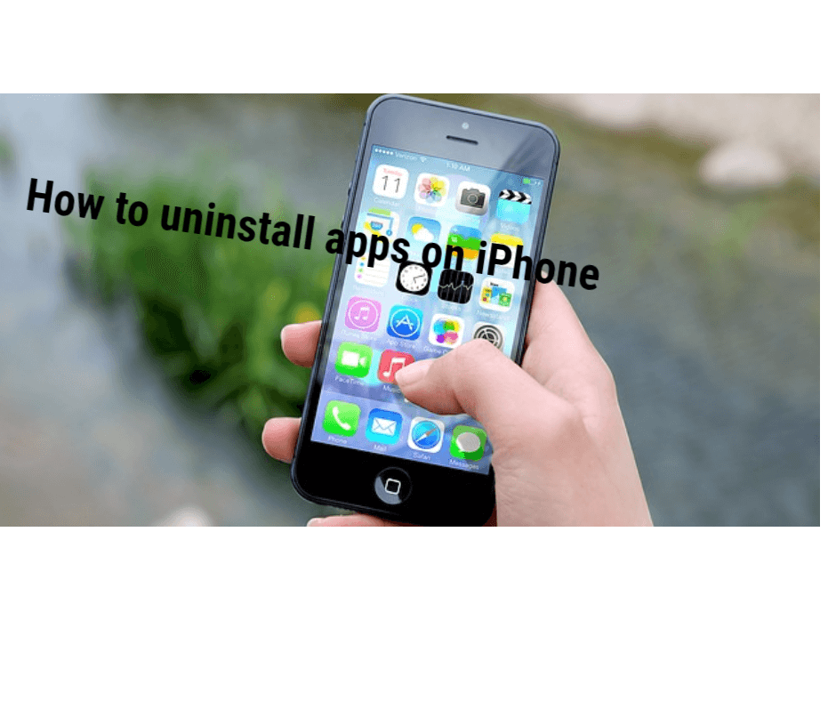 How to uninstall apps on iPhone process