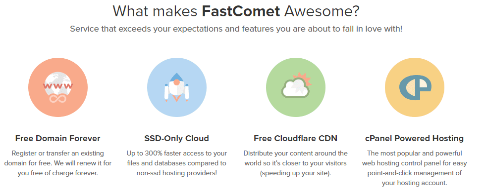 fastcomet hosting review 2018