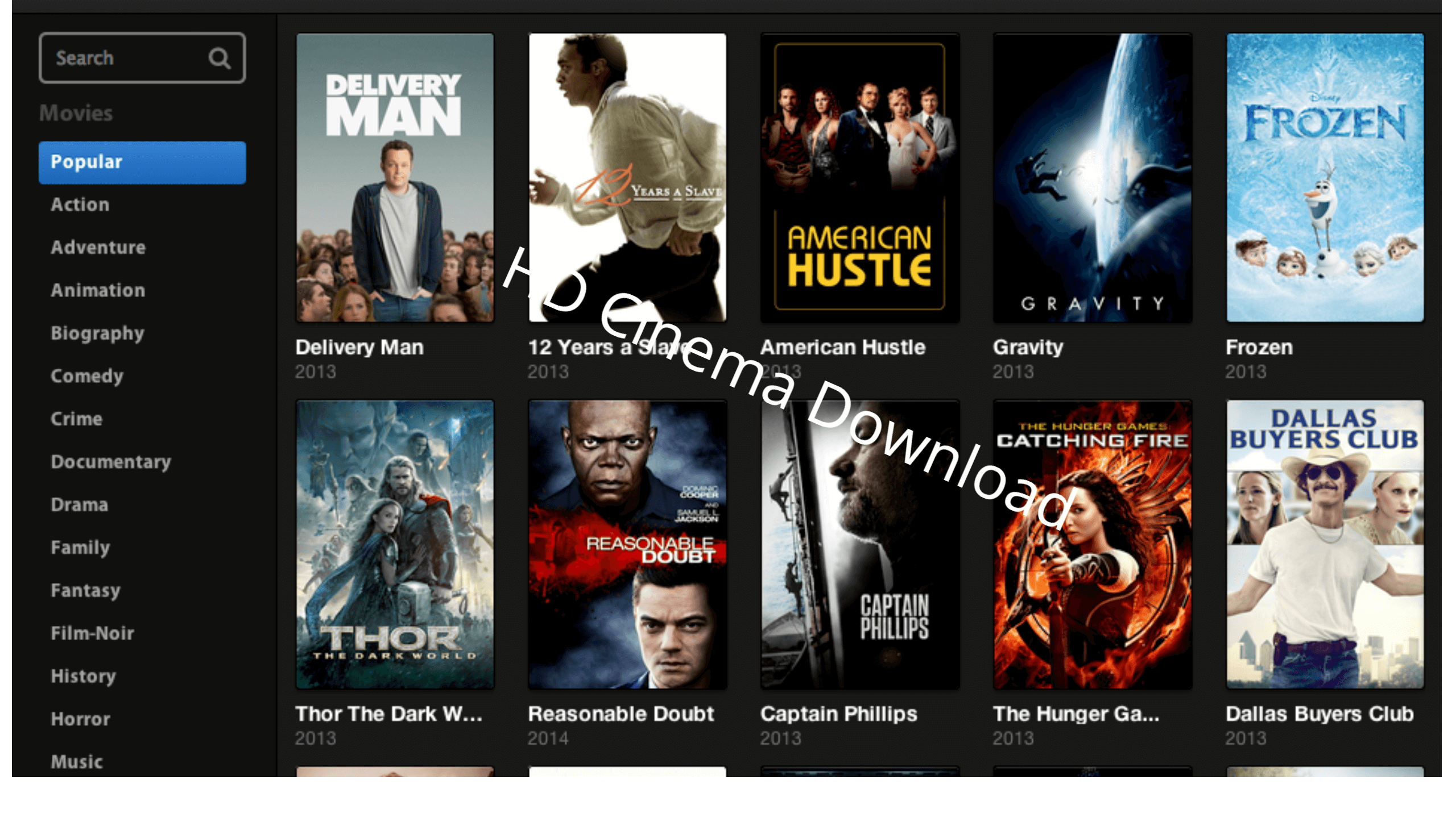 hd cinema download