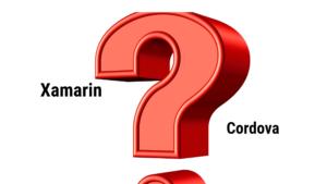 Xamarin vs Cordova 2018