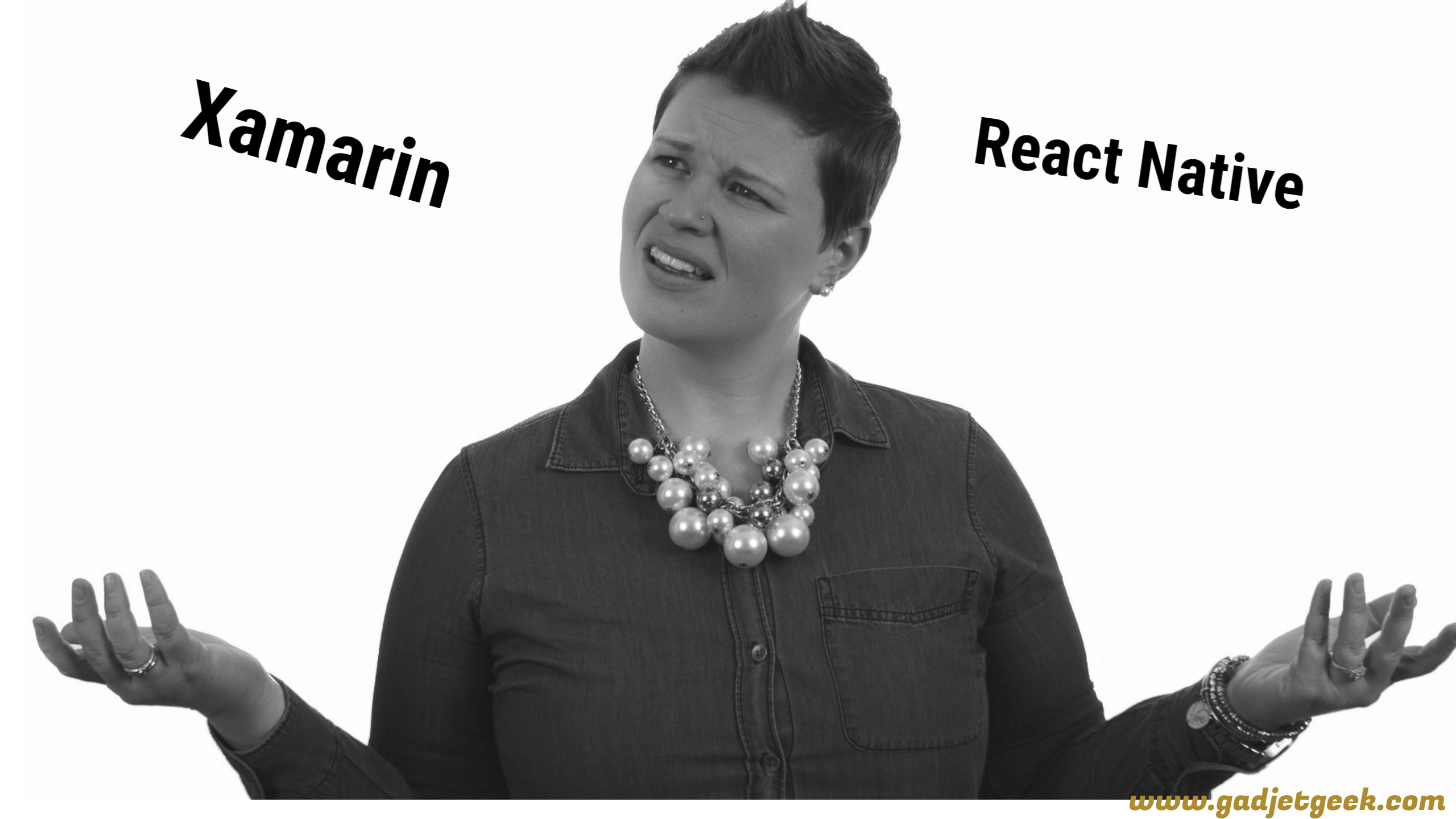 xamarin vs react native 2018