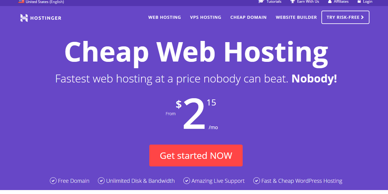 Hostinger web hosting Review 2018 with All Server Packages