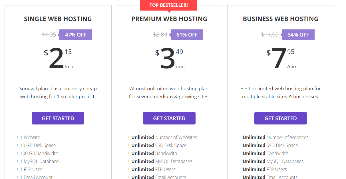 hostinger web hosting Review detail