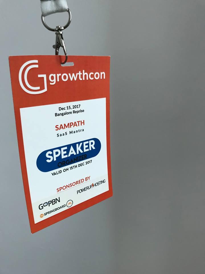 GrowthCon India