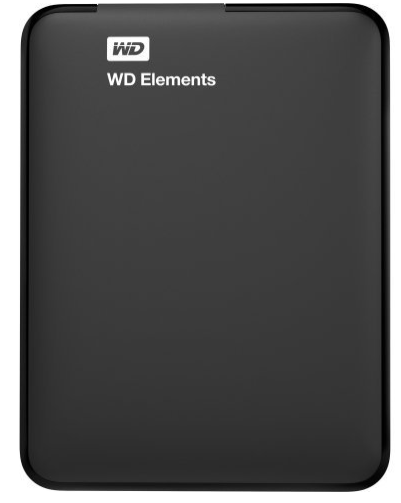 WD Elements 4TB Portable Hard Drive (Black)