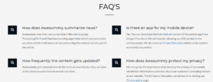 awesummly review FAQ