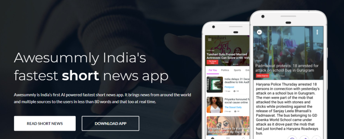 Awesummly review 2018 the best Instant Short News App