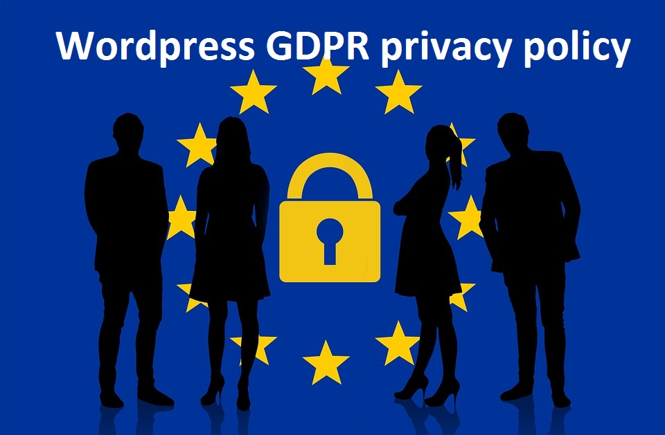 Wordpress GDPR privacy policy
