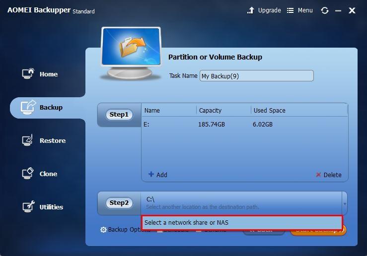 AOMEI Backupper best backup tool
