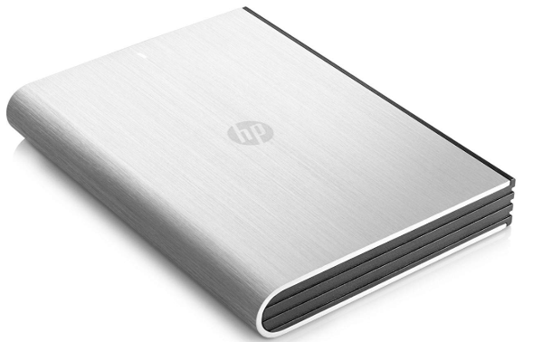 HP 1TB Wired External Hard Disk Drive